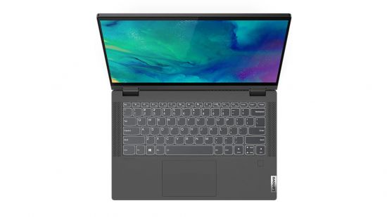 Lenovo Flex 5 Convertible Touch Screen Laptop RYZEN 7 5700U (16GB, 512GB SSD, INTEGRATED GFX, 14 FHD IPS Touch, 250 nits, Win10, OFFICE H&S 2019, GRAPHITE GREY, 1.5Kg, 1 Year Onsite, 1 Year  ADP ), 82HU00CQIN