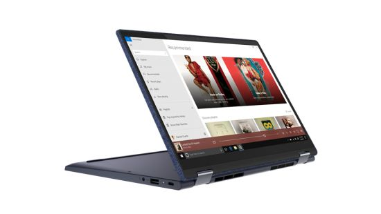Lenovo Yoga 6 Convertible Touch Screen Laptop RYZEN 7 4700U (16GB, 512GB SSD, INTEGRATED GFX, 13.3 FHD IPS Touch, 300 nits, Win10, OFFICE H&S 2019, ABYSS BLUE, 1.32 Kg, 3 Years Onsite, 1 Year  ADP ), 82FN004QIN